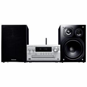 【納期約3週間】Panasonic パナソニック SC-PMX150-S 【ハイレゾ音源対応】 CDステレオシステム シルバー SCPMX150