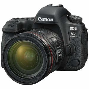 【納期約2週間】◎【お一人様1台限り】canon キヤノン EOS6DMK2-L2470K デジタル一眼カメラ EOS 6D Mark II EF24-70 F4L IS USM レンズキット EOS6DMK2 L2470K