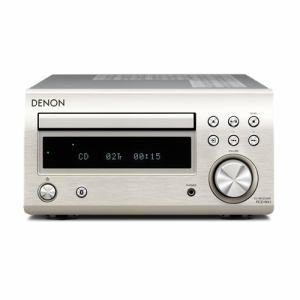 【納期約2週間】RCD-M41-SP【送料無料】[DENON デノン] Bluetooth対応CDレシーバー プレミアムシルバー RCDM41SP