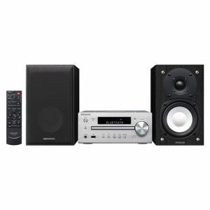 【納期約1~2週間】K-515-S JVCケンウッド ハイレゾ音源対応 コンパクトHi-Fiシステム シルバー K515S