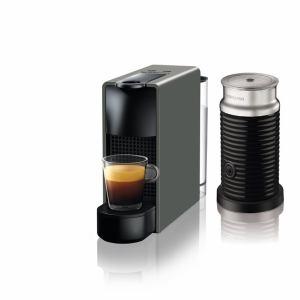【納期約2週間】ネスプレッソ C30GR-A3B 専用カプセル式コーヒーメーカー 「エッセンサ・ミニ」 バンドルセット インテンスグレー