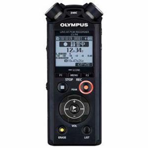 【3/1 24時間ポイント5倍×先着限定1,200円クーポン】【納期約7~10日】olympus オリンパス LS-P4-BLK 【ハイレゾ音源対応】リニアPCMレコーダー 8GB ブラック LSP4BLK