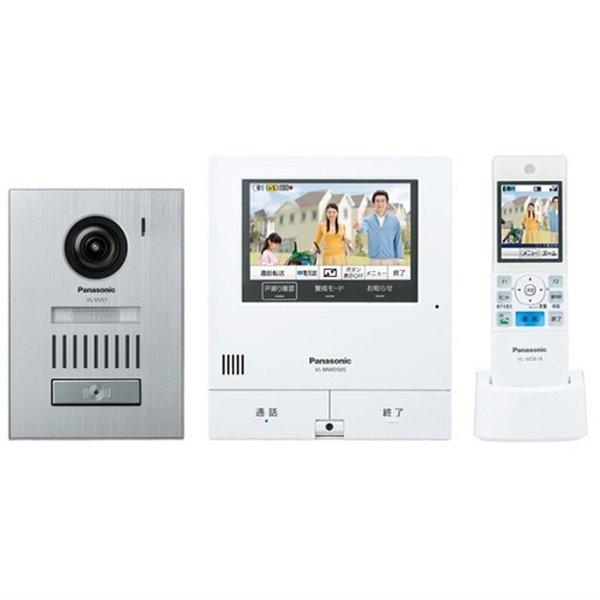 【納期約1~2週間】Panasonic パナソニック VL-SWD505KS カラーテレビドアホン スマホで 外でもドアホン VLSWD505KS