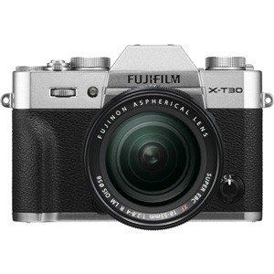 【在庫あり翌営業日発送OK A-8】【お一人様1台限り】FUJIFILM 富士フイルム FX-T30LK-S ミラーレス一眼カメラ X-T30 XF18-55mmレンズキット(シルバー) FXT30LKS