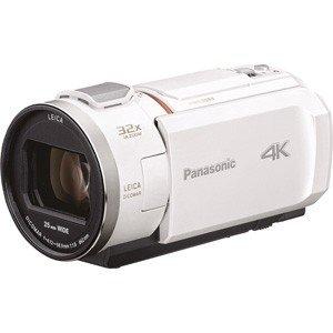 【2019年5月23日発売予定】Panasonic パナソニック HC-VX2M-W デジタル4Kビデオカメラ ピュアホワイト HCVX2MW