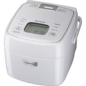 【納期約2週間】MITSUBISHI 三菱 NJ-SEA06-W IHジャー炊飯器(3.5合炊き) ピュアホワイト 備長炭 炭炊釜 NJSEA06W