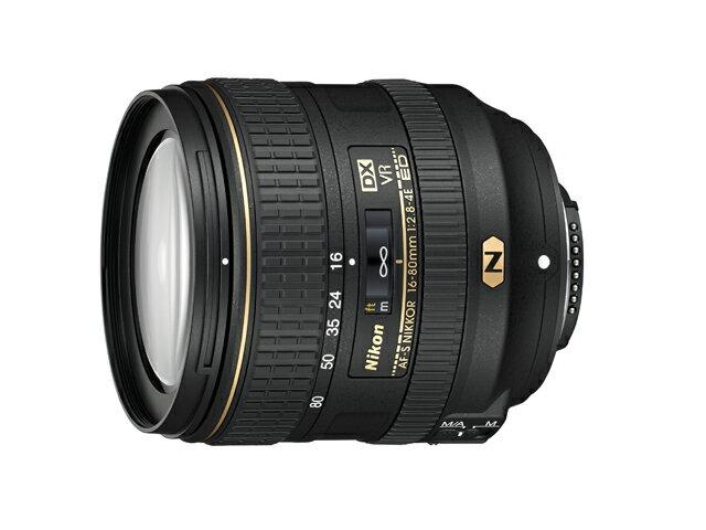 【お一人様1台限り】AF-S DX NIKKOR 16-80mm f/2.8-4E ED VR [Nikon ニコン] AFSDXNIKKOR1680mmf2.84EEDVR