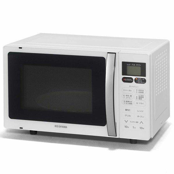 【納期約1~2週間】アイリスオーヤマ MO-T1603 東日本/西日本共用 オーブンレンジ 16L ホワイト MOT1603