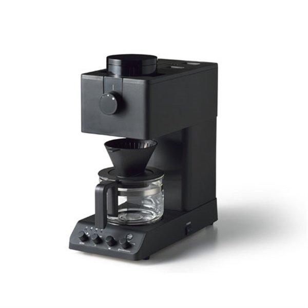 【納期約7~10日】ツインバード CM-D457B 全自動コーヒーメーカー 3杯分 ブラック CMD457B