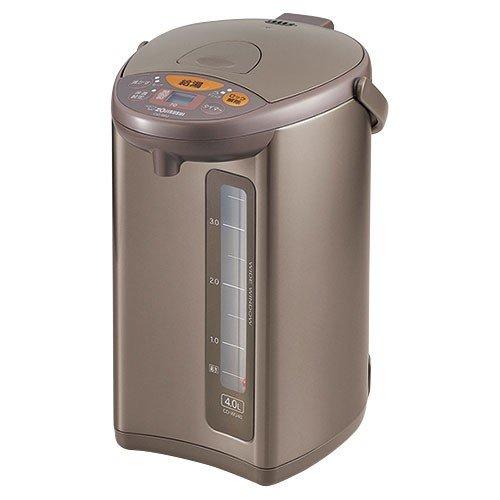 【納期約7~10日】CD-WU40-TM象印 ZOJIRUSHI マイコン沸とう電動ポット 4.0L メタリックブラウン CDWU40TM
