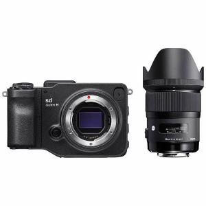 【代引き不可】【納期約3週間】SIGMA シグマ SD-QUATTROH-35 ミラーレス一眼カメラ sd Quattro H A 35mm F1.4 DG HSM レンズキット SD QUATTROH 35