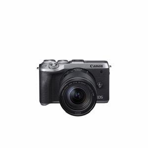 【納期約3週間】◎canon キヤノン EOSM6MK2 LLKSL ミラーレスカメラ EOS M6 Mark II (シルバー)・EF-M18-150 IS STM レンズキット