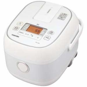 【納期約7~10日】TOSHIBA 東芝 RC-5XN-W 炊飯器 ホワイト 3合 IHRC5XNW