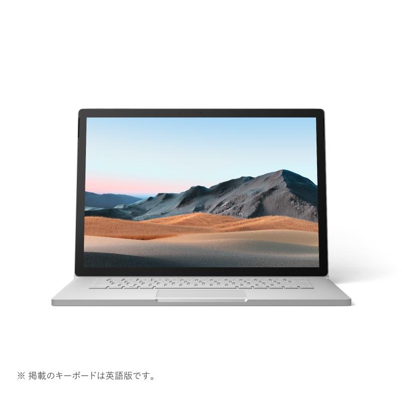 【2020年6月5日発売予定】【お一人様1台限り】【代引き不可】Microsoft マイクロソフト SMN-00018 ノートパソコン Surface Book 3 i7/32GB/512GB dGPU プラチナ プラチナ SMN00018