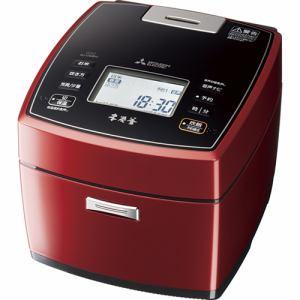 【納期約7~10日】MITSUBISHI 三菱電機 NJ-VWB10-R IHジャー炊飯器 5.5合炊き 本炭釜 ハードコート100 八重全面加熱 赤紅玉 NJVWB10
