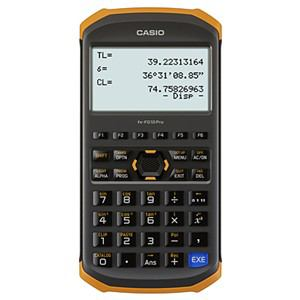 【納期約7~10日】fx-FD10 Pro【送料無料】[CASIO カシオ] 土木測量専業電卓 fxfd10pro
