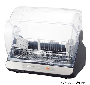 納期約7~10日 VD-B10S LK ブルーブラック TOSHIBA 東芝 容量 VDB10S 物品 6人用 マイコンタイプ 卓越 食器乾燥器