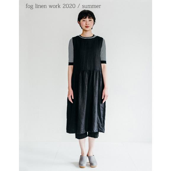 fog linen work(フォグリネンワーク)アダリナ ワンピース ブラック [LWA202-17]