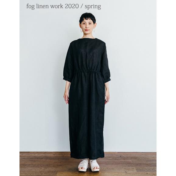 fog linen work(フォグリネンワーク) サム ジャンプスーツ ブラック [LWA199-17]