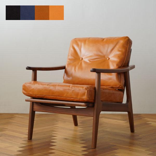 マルニ60 正規取扱店 木製 信憑 ソファ 椅子 ウォールナット ウォールナットフレームチェア 百貨店 たつのレザー 全4色 オイルレザー 1人掛け 本革