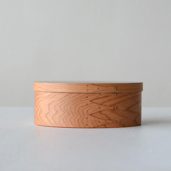 [A] シェーカーボックス ソーイング(チェリー)裁縫箱 [BR006]【北欧 トレー トレイ 木製 無垢 桜 ふた付き スタッキング 裁縫箱 ソーイングボックス】