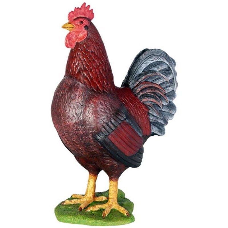 実物大 動物 オブジェ 勇敢な雄鶏 インテリア イベント ディスプレイ