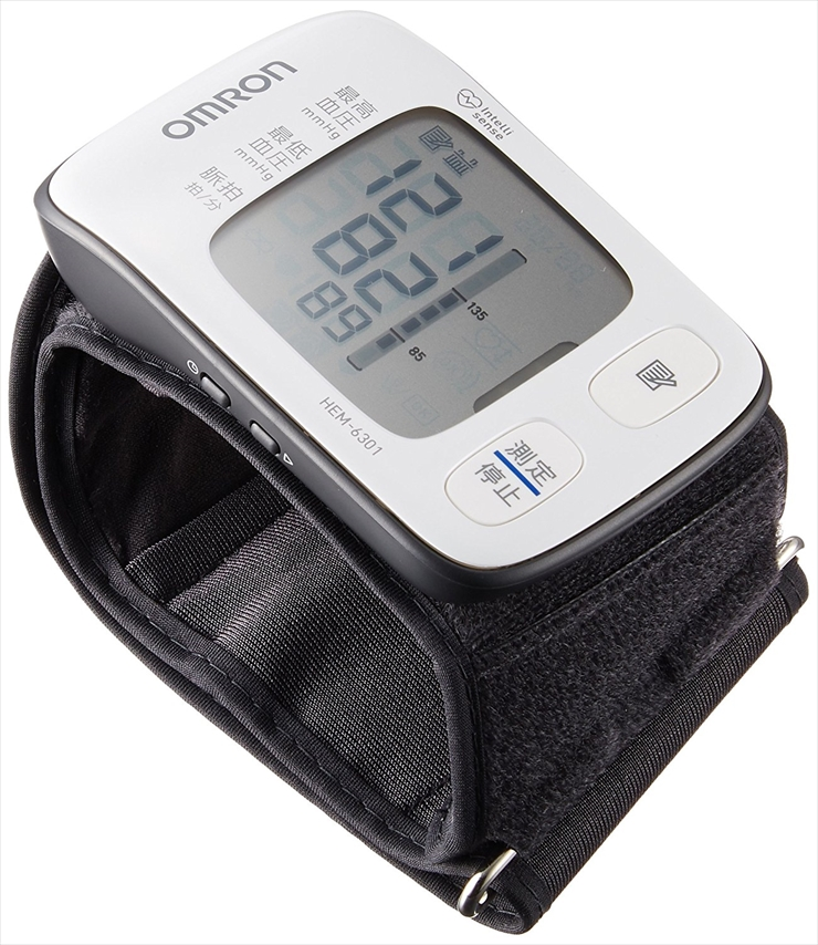 オムロン 手首式血圧計HEM-6301