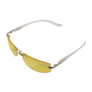 Zealot ナイトケアビジョン機能性サングラス NV-202夜間の運転や歩行時の眩しさを低減 白内障等の眼病ケアに