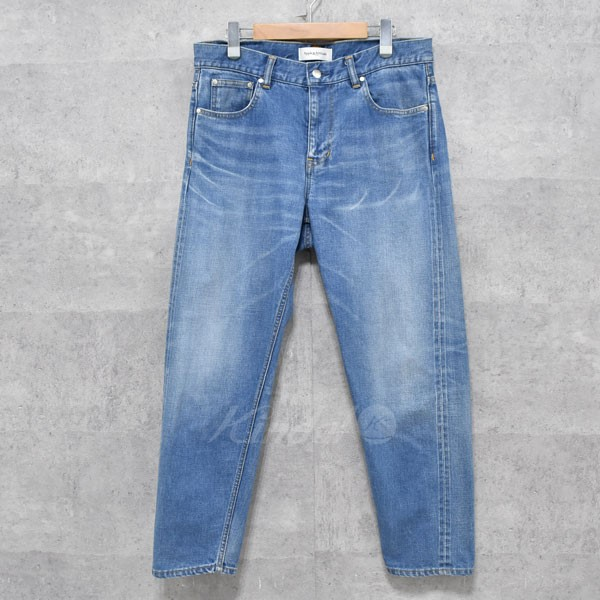 【中古】Apple&Attitude Wide Tapered Denim 加工デニムパンツ 【送料無料】 【008948】 【KIND1550】