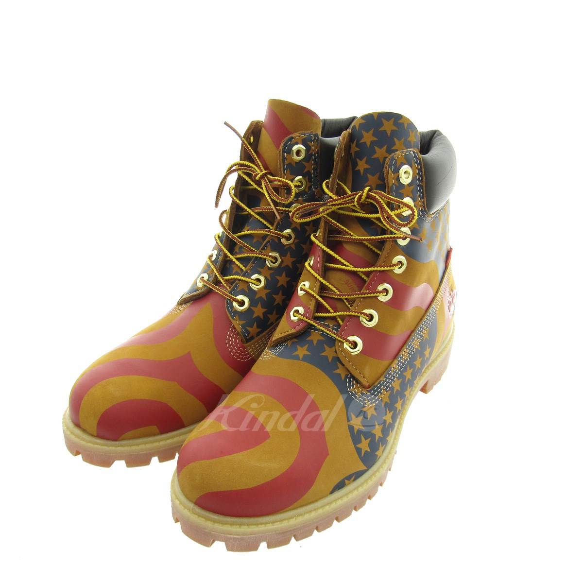 pretty nice 3fbab a936d SUPREME X Timberland Stars and Stripes 6-Inch Premium Waterproof Boot ...