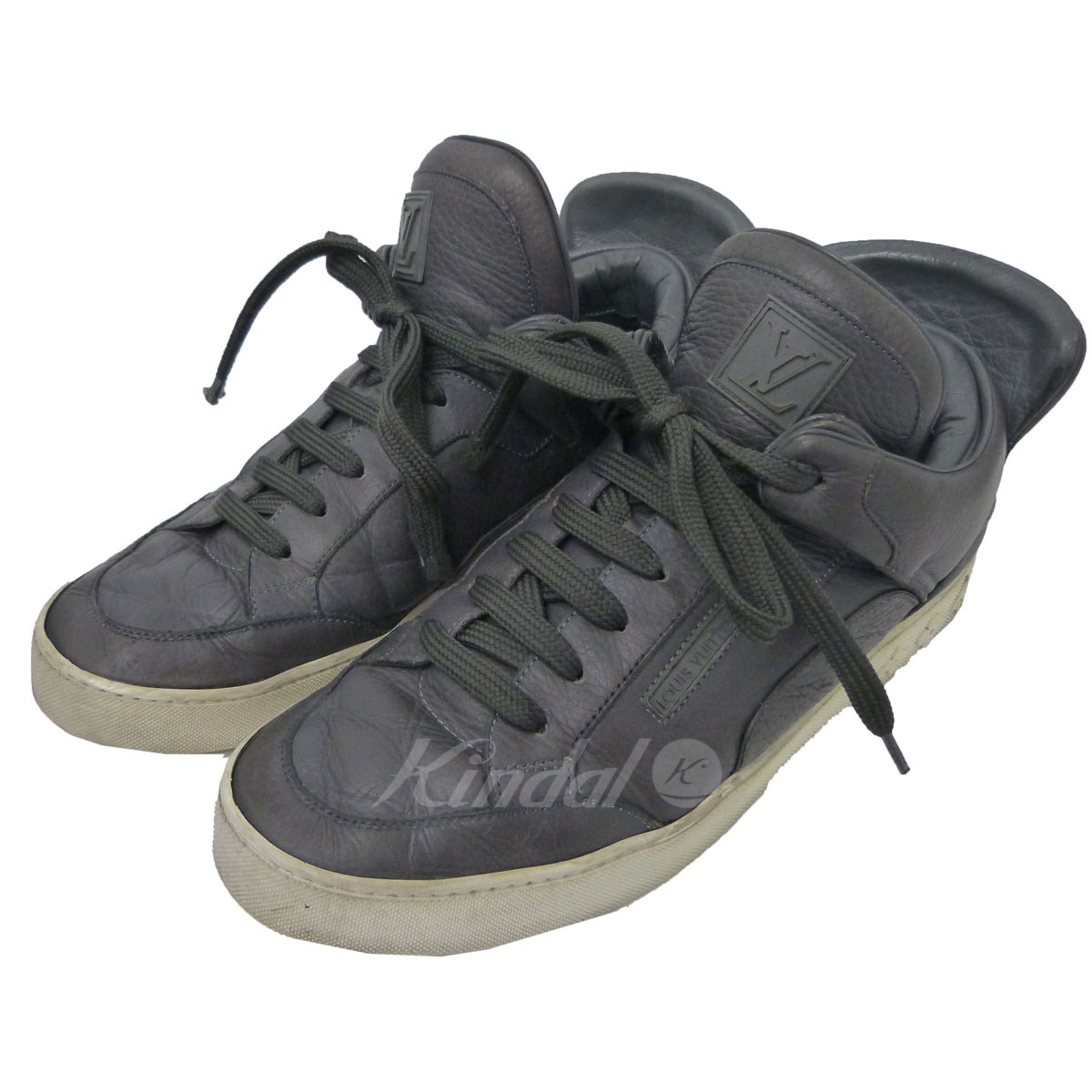 【中古】LOUIS VUITTON×KANYE WEST 「DONS SNEAKER」スニーカー 【送料無料】 【015521】 【KIND1641】