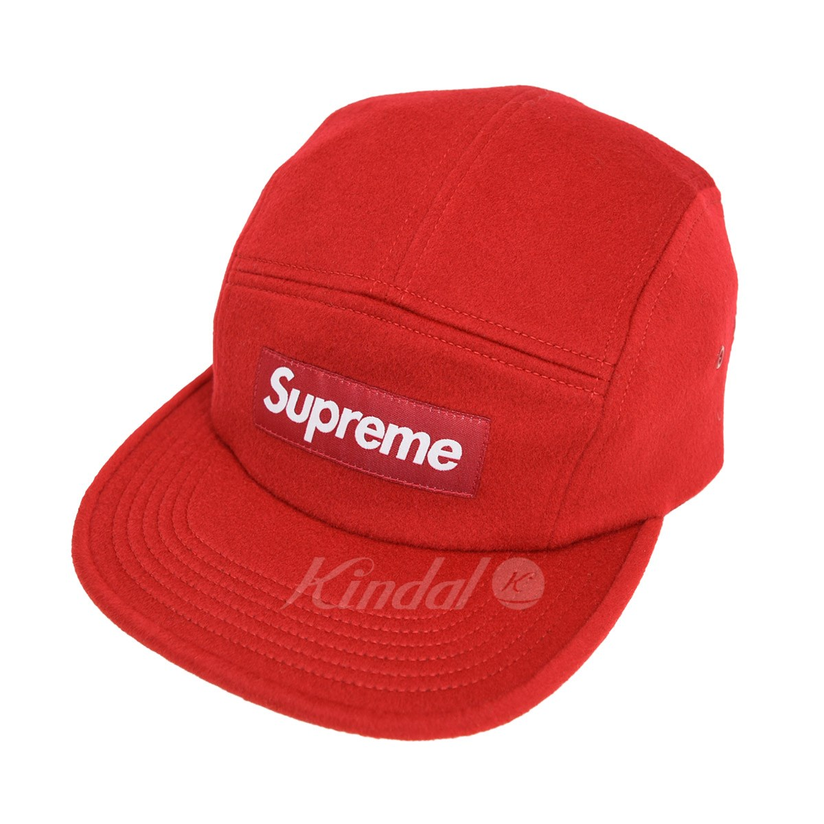 【中古】SUPREME Loro Piana Wool Camp Cap 2017AW 【送料無料】 【011801】 【KIND1641】