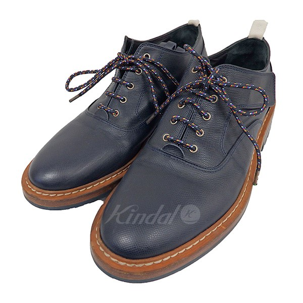 【中古】KRIS VAN ASSCHE VELCRO DERBY LEATHER SHOES 2014AW 【送料無料】 【009261】 【KIND1327】