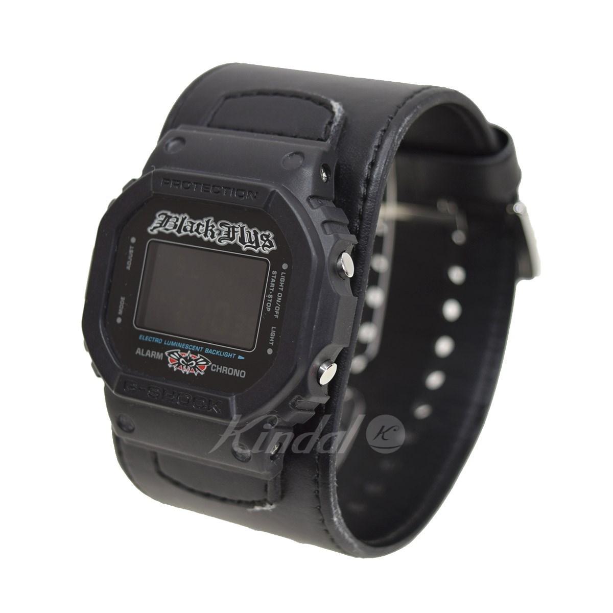 【中古】CASIO ×BlackFlys ブラックフライズ G-SHOCK 腕時計 DW-5600VTBFLY ブラック サイズ:- 【送料無料】 【150118】(カシオ)
