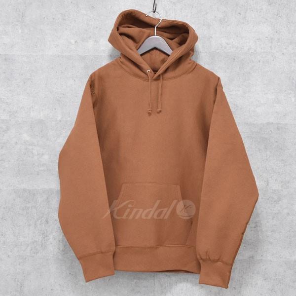 【中古】SUPREME 17AW Embossed Logo Hooded Sweatshirt  プルオーバーパーカー 【送料無料】 【033360】 【KIND1489】