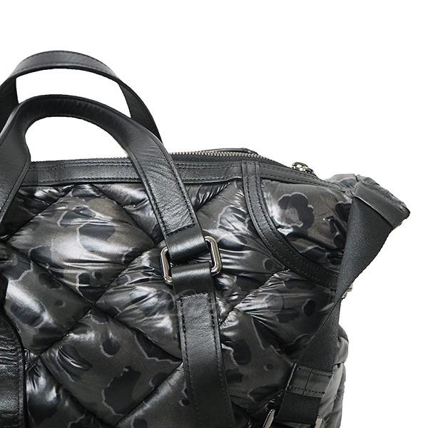 【中古】KENJI IKEDA中綿入りレオパード柄2WAYキルティングバッグ カーキ×ブラック サイズ:- 【送料無料】