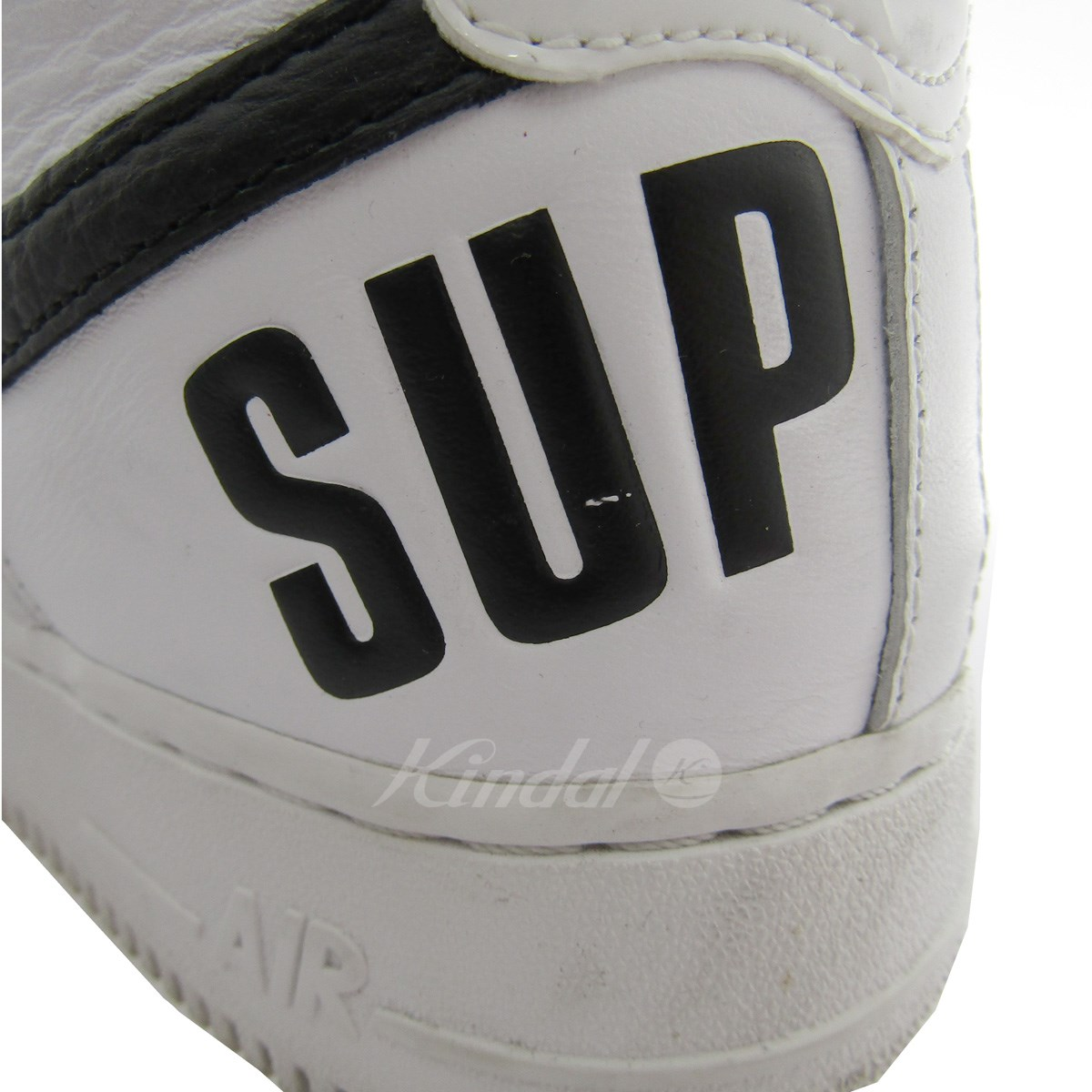 ... SUPREME X NIKE 698,696-100 AIR FORCE 1 HIGH SUPREME SP sneakers white  size: