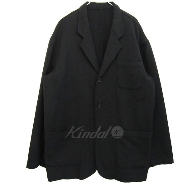 【中古】Ys for men ウール3Bジャケット ブラック サイズ:L 【送料無料】 【050218】(ワイズフォーメン)