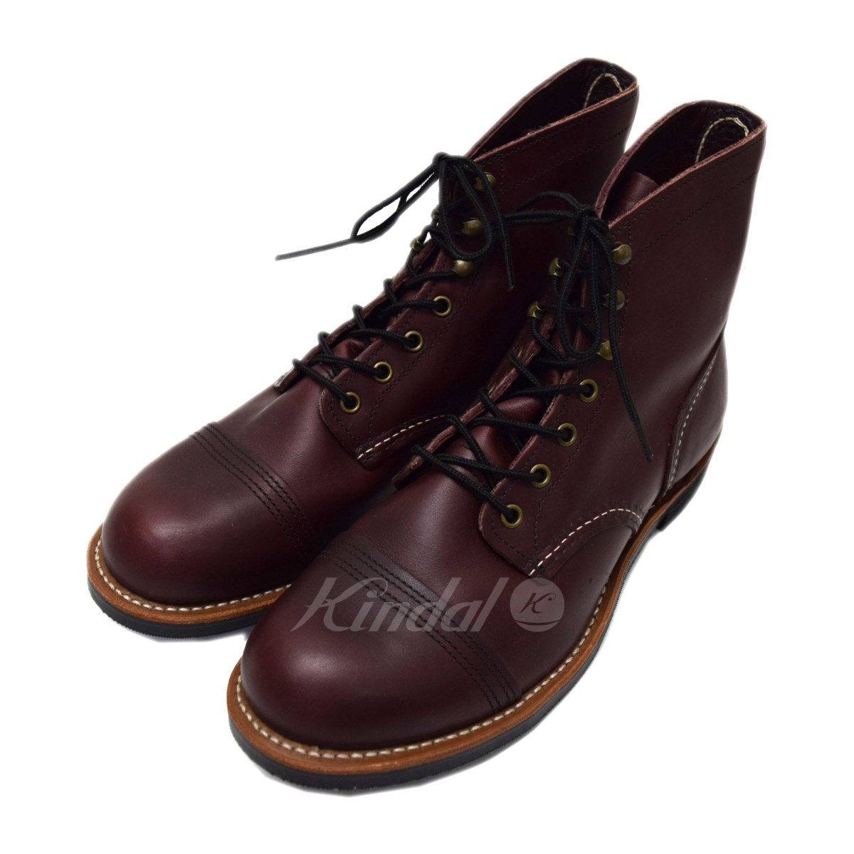 【中古】RED WING 8119 Iron Range OX BLOOD 【送料無料】 【000086】 【KIND1641】