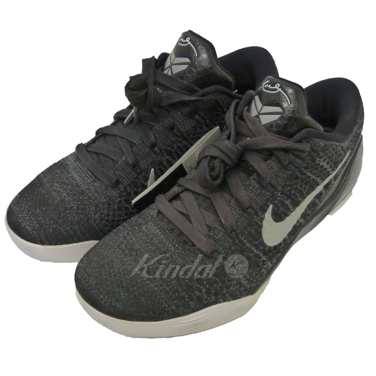 【中古】NIKE(HTM) 「KOBE 9 ELITE LOW PRM」スニーカー 【送料無料】 【004323】 【KIND1327】