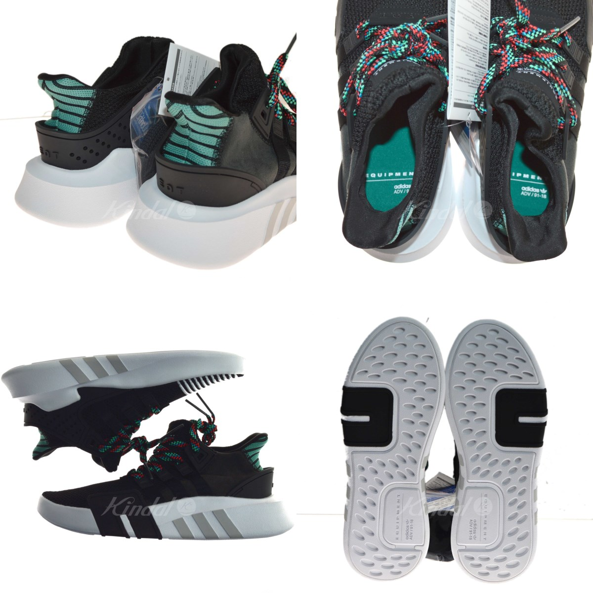 52e3010a963 adidas EQT BASK ADV higher frequency elimination sneakers black size  26. 5  (Adidas)