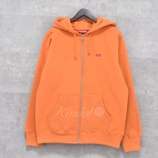 【中古】SUPREME 17AW Small Box Zip Up Sweatshirt  ジップアップパーカー 【送料無料】 【053481】 【KIND1550】