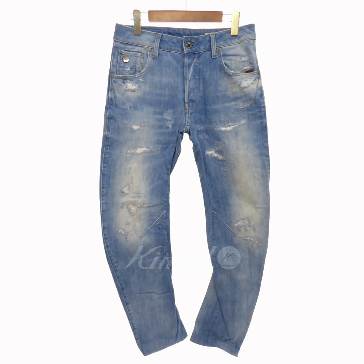 【中古】G-STAR RAW Arc 3D Slim Jeans インディゴ サイズ:27/32 【080318】(ジースター・ロウ)