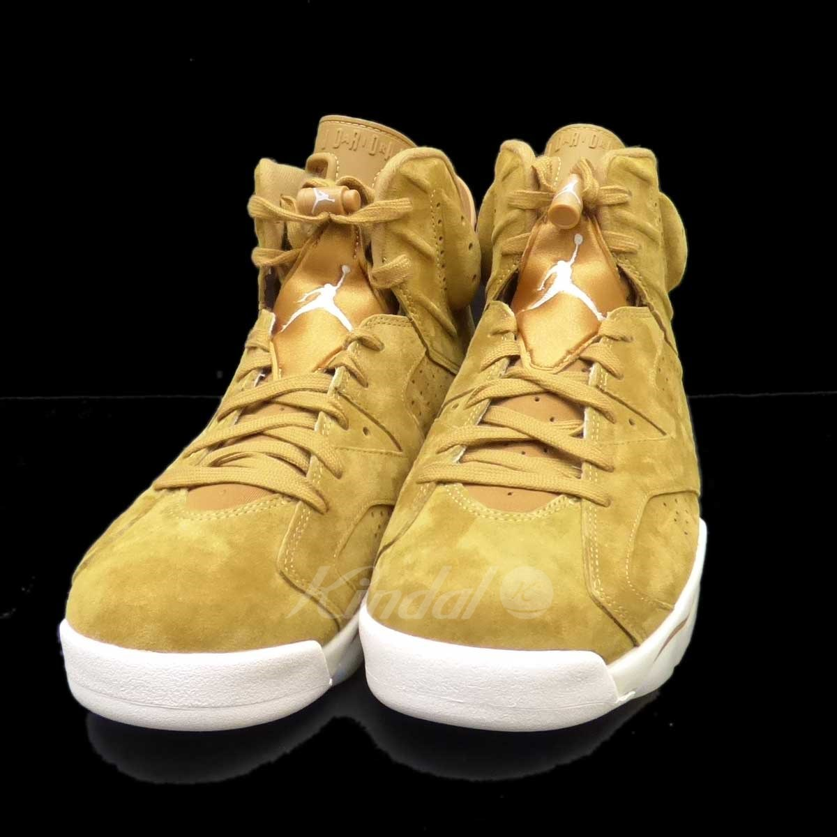 【中古】NIKE AIR JORODAN 6 RETRO GOLDEN HARVEST WHEAT 【送料無料】 【032686】 【KIND1327】