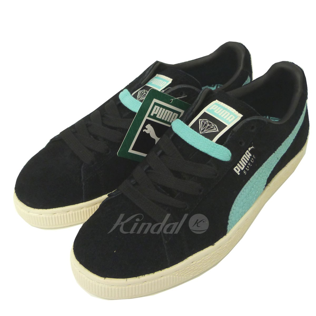 【中古】PUMA×DIAMOND SUPPLY CO 「Suede DIAMOND」スニーカー 【042428】 【銅】