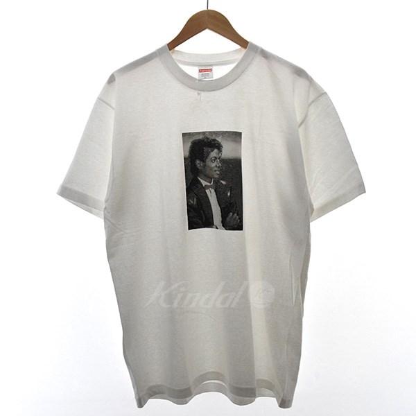 【中古】SUPREME 17SS Micheal Jackson Tee マイケルジャクソン Tシャツ 【未使用品】タグ付き ホワイト サイズ:L 【送料無料】 【160318】(シュプリーム)