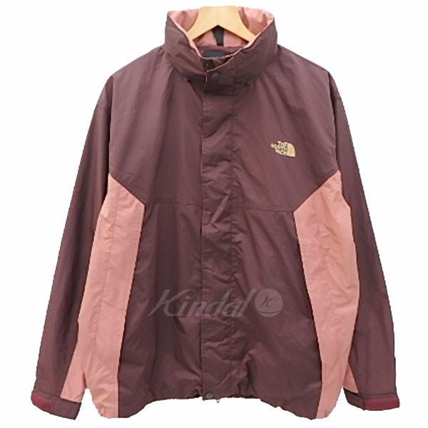 【中古】THE NORTH FACE Hydrena Stretch Jacket ジップアップブルゾン エンジ×ピンクベージュ サイズ:XL 【送料無料】 【180318】(ザノースフェイス)