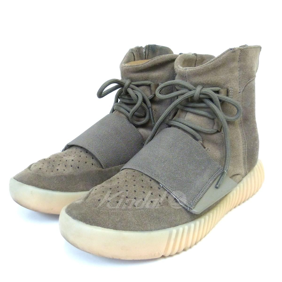 【中古】adidas originals by Kanye West YEEZY BOOST 750 BY2456 ハイカットスニーカー 【送料無料】 【044175】 【KIND1327】