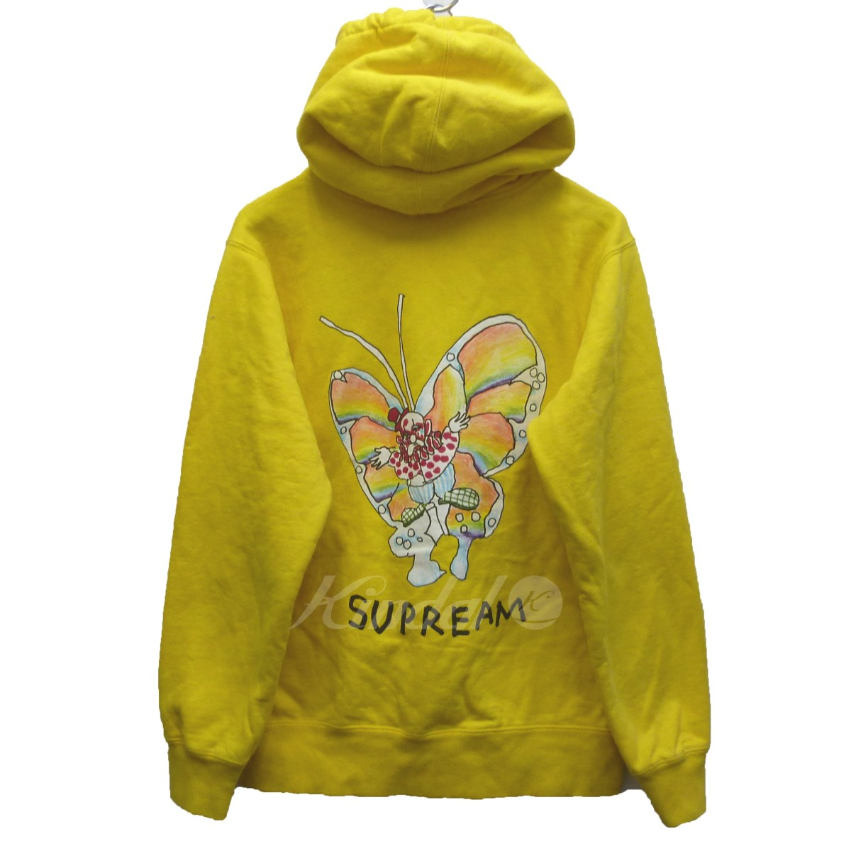 【中古】SUPREME×Mark Gonzales 16SS 「Gona Butterfly Zip Up Sweat」 バタフライパーカー 【送料無料】 【045141】 【KIND1550】