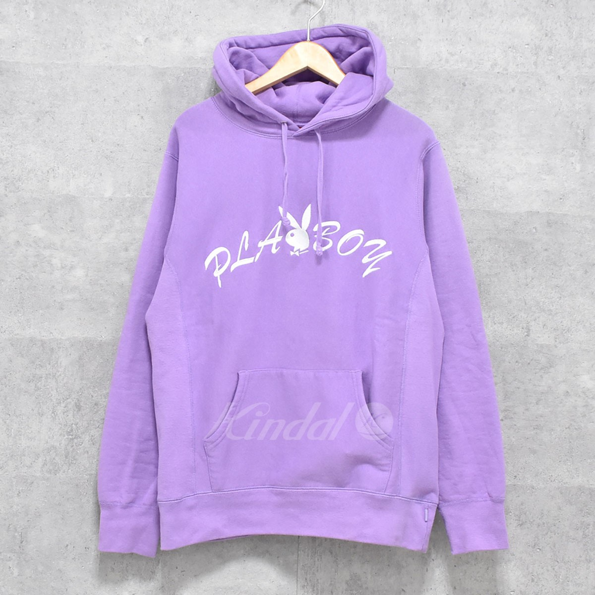 【中古】SUPREME×PLAY BOY 17SS Hooded Sweatshirt プルオーバーパーカー 【送料無料】 【080685】 【KIND1550】